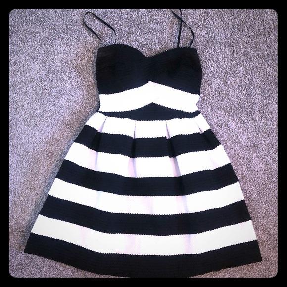 39c95eca1 B Darlin Dresses | 56 Black And White Skater Dress | Poshmark